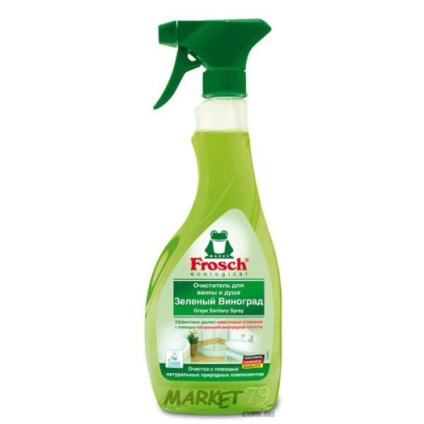 market79.com.ua-Очиститель для ванны и душа Frosch с виноградной кислотой 500 мл