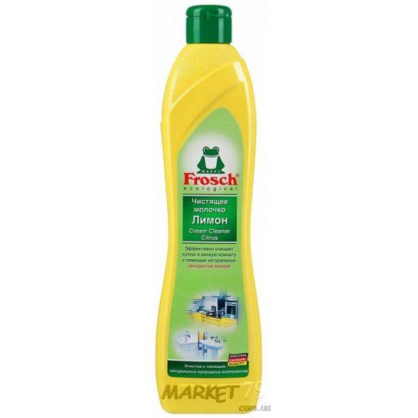 market79.com.ua-Чистящее молочко Frosch Лимон 500 мл