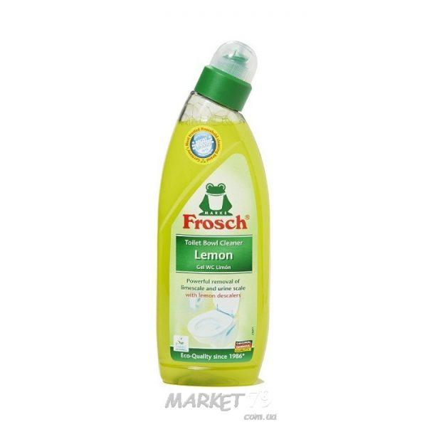 market79.com.ua-Чистящее средство для унитазов Frosch Лимон 750 мл